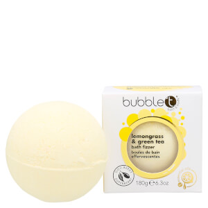 Bubble T Bath Fizzer - Lemongrass & Green Tea 180g: Image 1