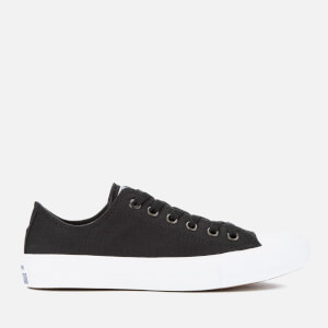 Converse Chuck Taylor All Star II Ox Trainers - Black/White/Navy