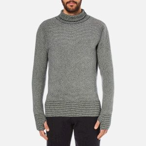 Oliver Spencer Men's Bamako Roll Neck Jumper - Navy Multi