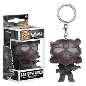 Llavero Pocket Pop! T-60 Power Armor - Fallout 4