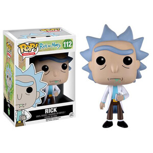 Rick and Morty Rick Figura Pop! Vinyl