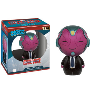 Marvel Suited Vision Ltd Ed Dorbz Vinyl Figur