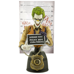 Buste Le Joker Mugshot Cryptozoic Entertainment DC Comics