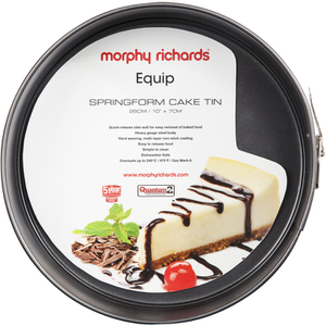 Morphy Richards 970516 10 Inch Springform Cake Tin