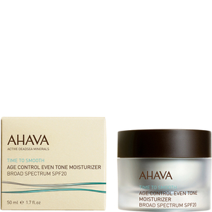 AHAVA Age Control Even Tone Moisturizer Broad Spectrum SPF 20