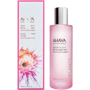 AHAVA Dry Oil Body Mist – Cactus and Pink Pepper