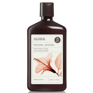 AHAVA Mineral Botanic Velvet Body Lotion - Hibiscus and Fig 500ml