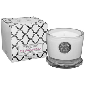 Aquiesse Small Glass Jar Candle - White Grapefruit Acai