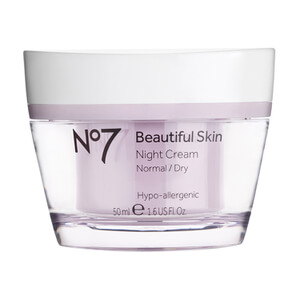 No7 Beautiful Skin Night Cream - Normal to Dry