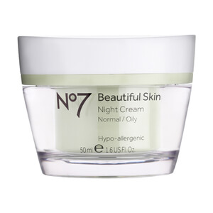 Boots No.7 Beautiful Skin Night Cream - Normal to Oily