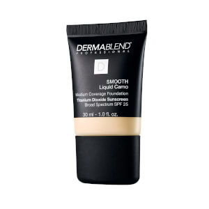 Dermablend Smooth Liquid Foundation Make-Up with SPF25 for Medium to High Coverage - 0C Linen