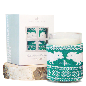 FarmHouse Fresh Cozy Sweater Candle - Home Fir the Holidays
