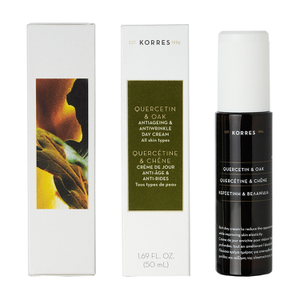KORRES Quercetin and Oak Antiageing and Antiwrinkle Day Cream SPF 15