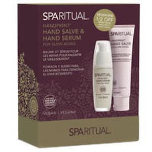 SpaRitual Handprint Hand Serum and Hand Salve Duo