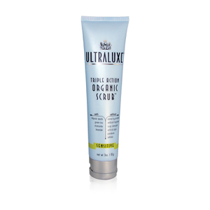 UltraLuxe Triple Action Organic Scrub - Sensitive