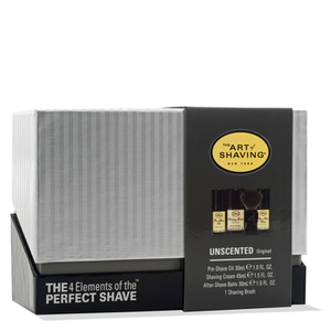 The Art of Shaving Mid-Size Kit - Unscented (Worth $81)