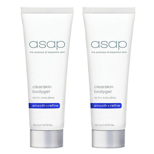 2 x asap Clearskin Bodygel 120ml