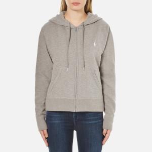 Polo Ralph Lauren Women's Oversized Full Zip Hoody - Soft Flannel Heather