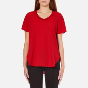 MICHAEL MICHAEL KORS Women's Cowl Neck Top - Red