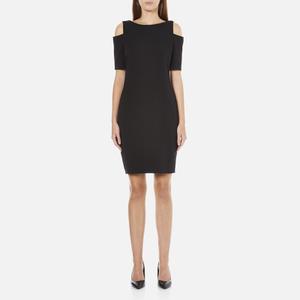MICHAEL MICHAEL KORS Women's Structured Cut Out Dress - Black