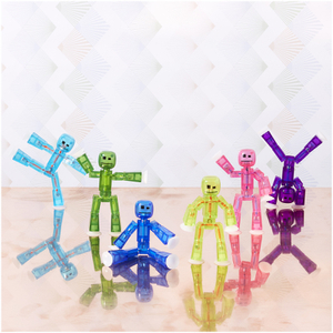 Lot de 6 Figurines StikBot