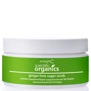 EmerginC Scientific Organics Ginger-Lime Sugar Scrub 234g