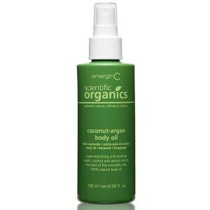 EmerginC Scientific Organics Coconut-Argan Body Oil 180ml