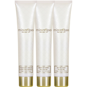 Mirenesse Power Lift + Rejuvenation 3 Piece Collection