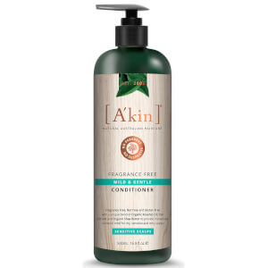 A'Kin Mild & Gentle Fragrance Free Conditioner 500ml