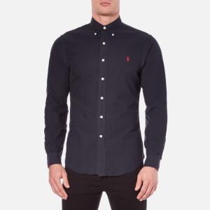 Polo Ralph Lauren Men's Long Sleeve Button Down Shirt - Hunter Navy