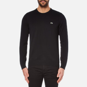 Lacoste Men's Crew Neck Jumper - Black