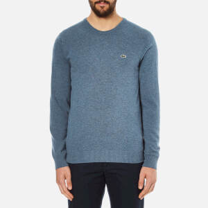 Lacoste Men's Crew Neck Sweatshirt - Storm Chine