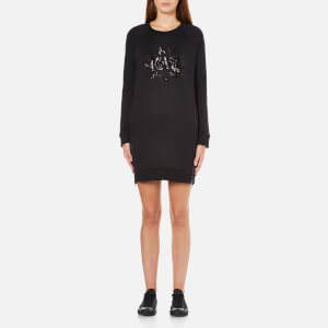 Karl Lagerfeld Women's Sequin Karl Pop Dress - Black