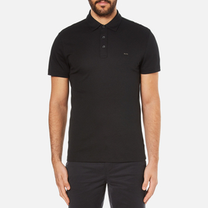 Michael Kors Men's Sleek Mk Polo Shirt - Black