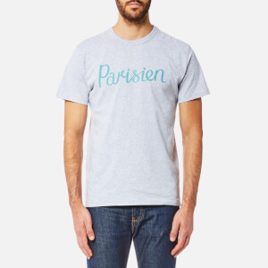 Maison Kitsuné Men's Palais Royal T-Shirt - Grey