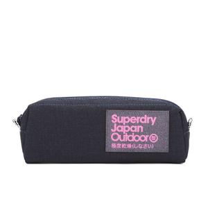 Superdry Women's Cinda Pencil Case - Dark Navy Glitter