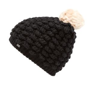 Superdry Women's Bobble Stitch Fur Pom Pom Hat - Black