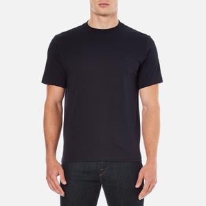 PS by Paul Smith Men's Crew Neck Short Sleeve Logo T-Shirt - Navy
