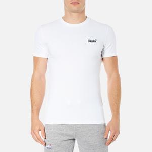 Superdry Men's Orange Label Vintage Embroidery T-Shirt - Optic White