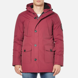 Superdry Men's Everest Parka - Wine Red