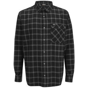 Jack Wolfskin Men's Glacier Shirt - Black Check