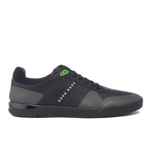 BOSS Green Men's Feather Tenn Trainers - Black