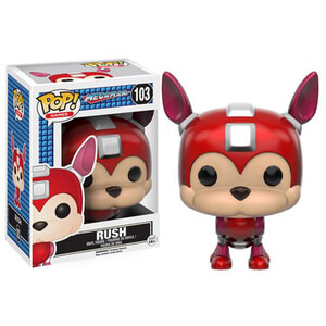 Figura Pop! Vinyl Rush - Mega Man