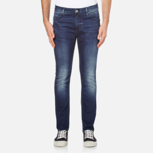 Calvin Klein Men's Body Slim Fit 6 Pocket Jeans - Blue Fountain