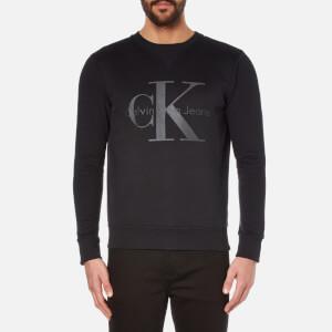 Calvin Klein Men's Hinter Crew Neck Sweatshirt - CK Black