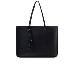 The Cambridge Satchel Company Women's The Tassel Tote with Magnetic Closure - Black
