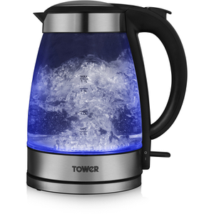 Tower T10007 3kW Illuminating Glass Kettle - Multi