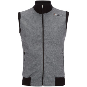 Santini Eroica Tweed Technical 2015 Heritage Series Gilet - Black