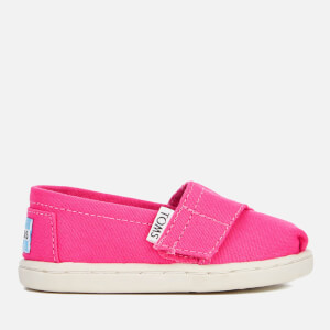 TOMS Toddlers' Seasonal Classics Slip-On Pumps - Fuchsia