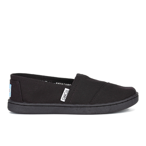 TOMS Kids' Seasonal Classics Slip-On Pumps - Black
